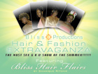 Bliss Hair Show Flyer