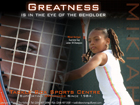 Mikiah Harrigan - Greatness Ad for Tackle Box Sports Centre